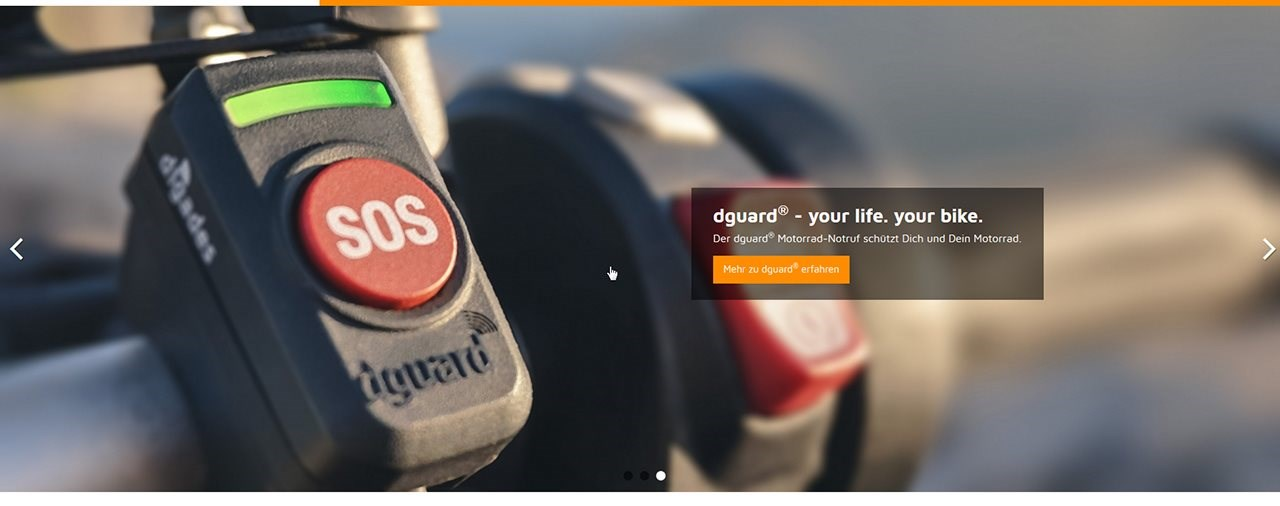 dguard® Website präsentiert sich im neuen Look