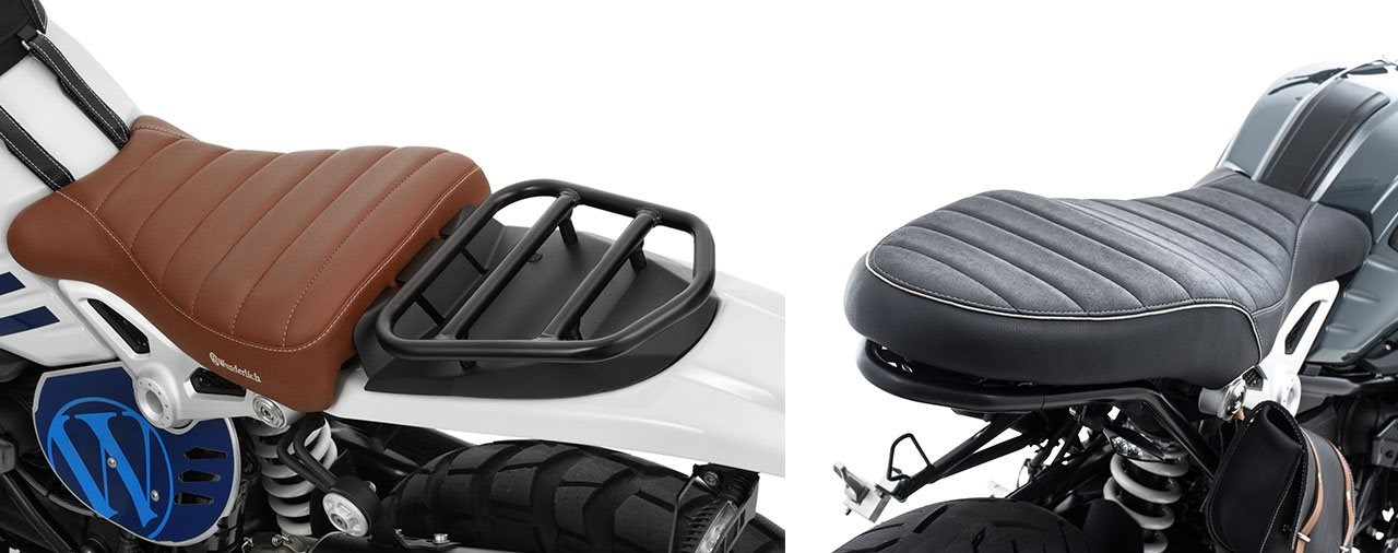 Neue R nineT-Sitzbänke von Wunderlich