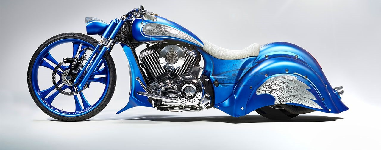 Indian Chief 2017 Custom Bike - Top Mountain