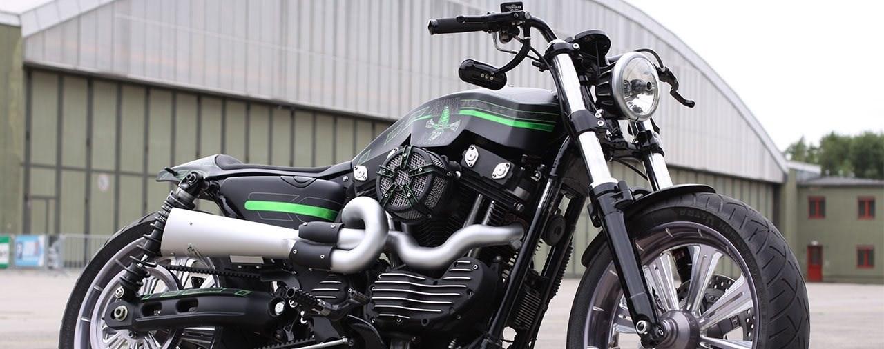 Stock Sucks - Custom Harley Sportster
