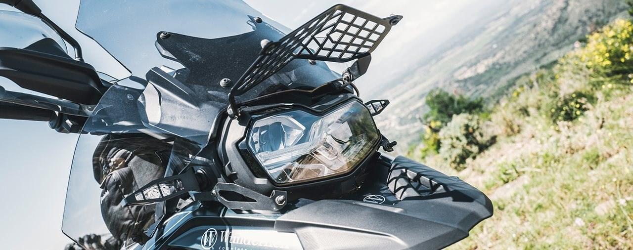 Neuer Lichtschutz für BMW F750/850 GS von Wunderlich