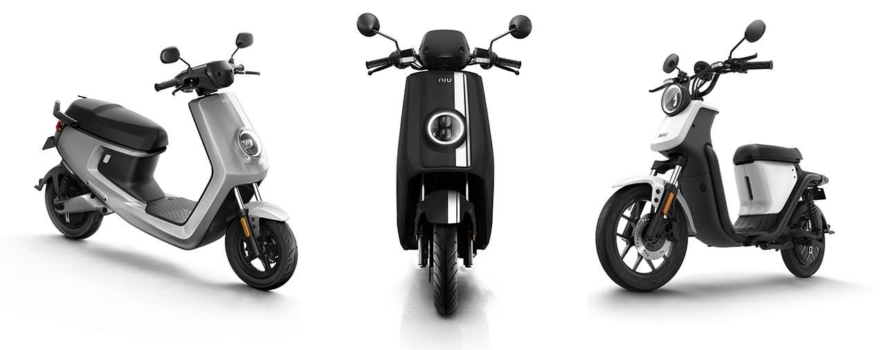 NIU 2019: 4 neue E-Scooter für den deutschsprachigen Markt