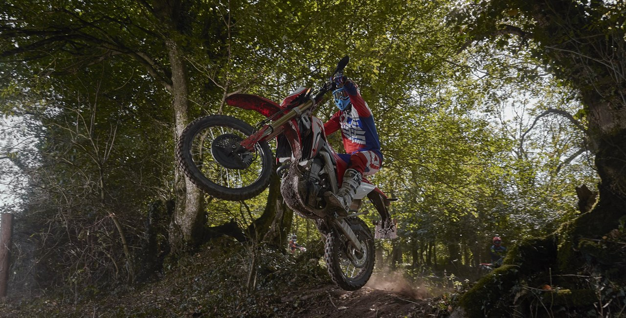 Honda CRF450L Test