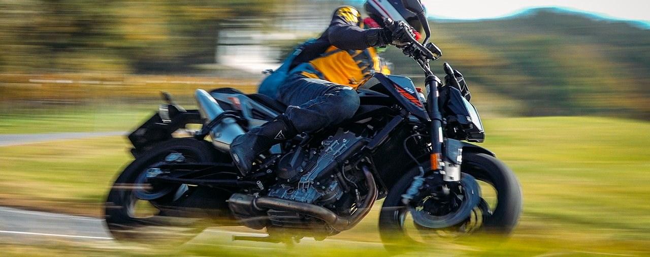 KTM 790 Duke L Test für Fahreinsteiger