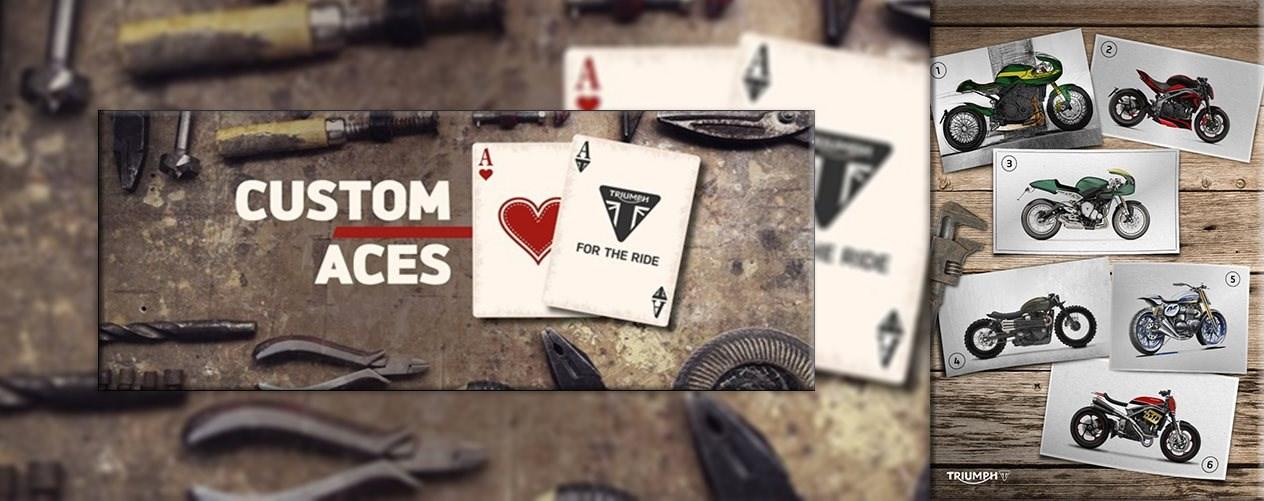 """Custom Aces"" Triumphs Customizing-Wettbewerb"