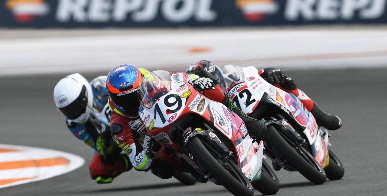 WM-Finale der Junioren in der Klasse Moto3