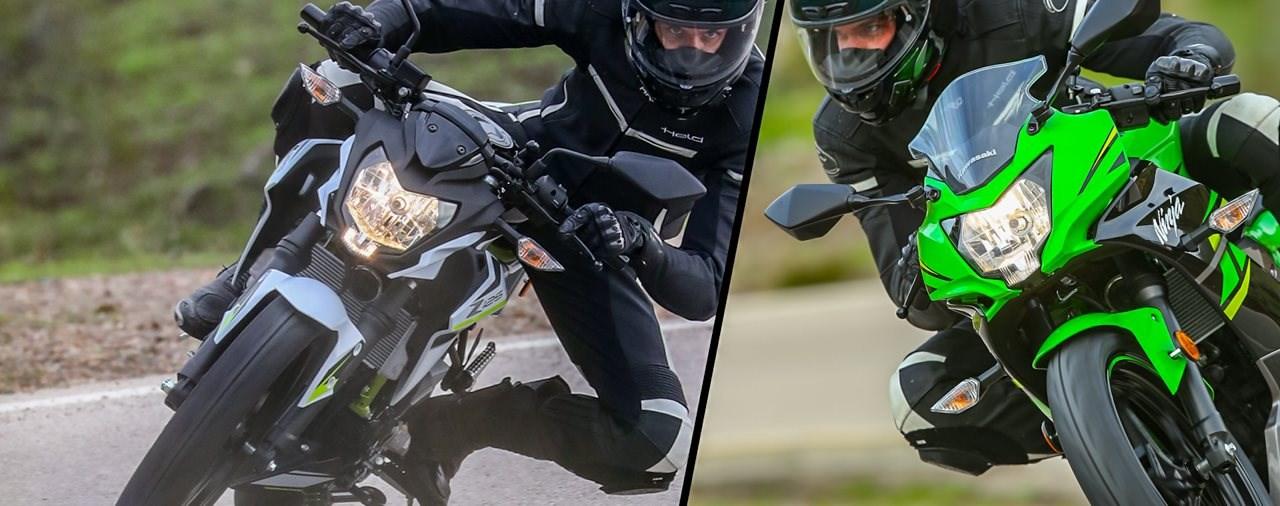 Kawasaki Z125 & Ninja 125 Test