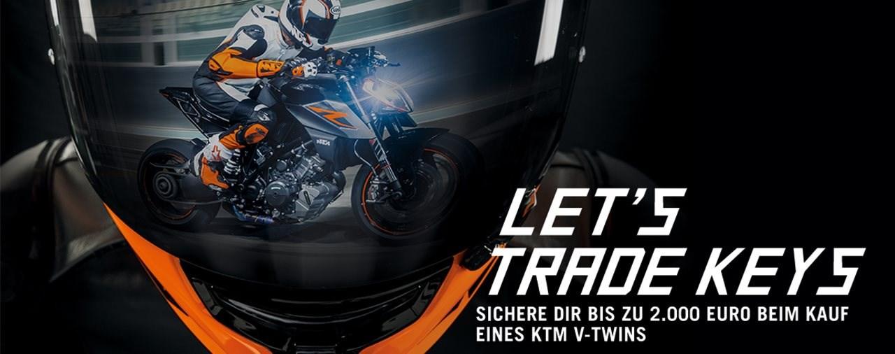KTM - Let's Trade Keys Aktion