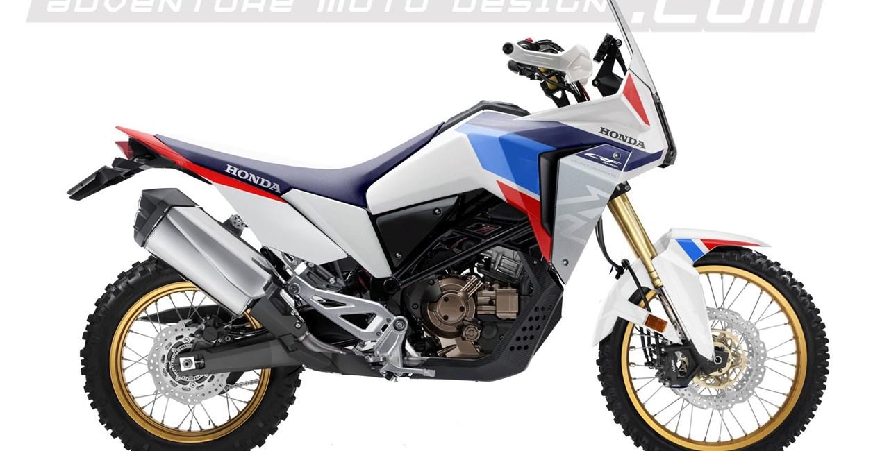 Honda CRF1000L Africa Twin im Rubberdust Design