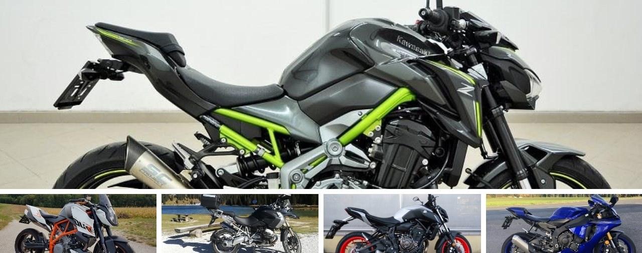 Top 5: Motorradkauf - Neues oder altes Modell?