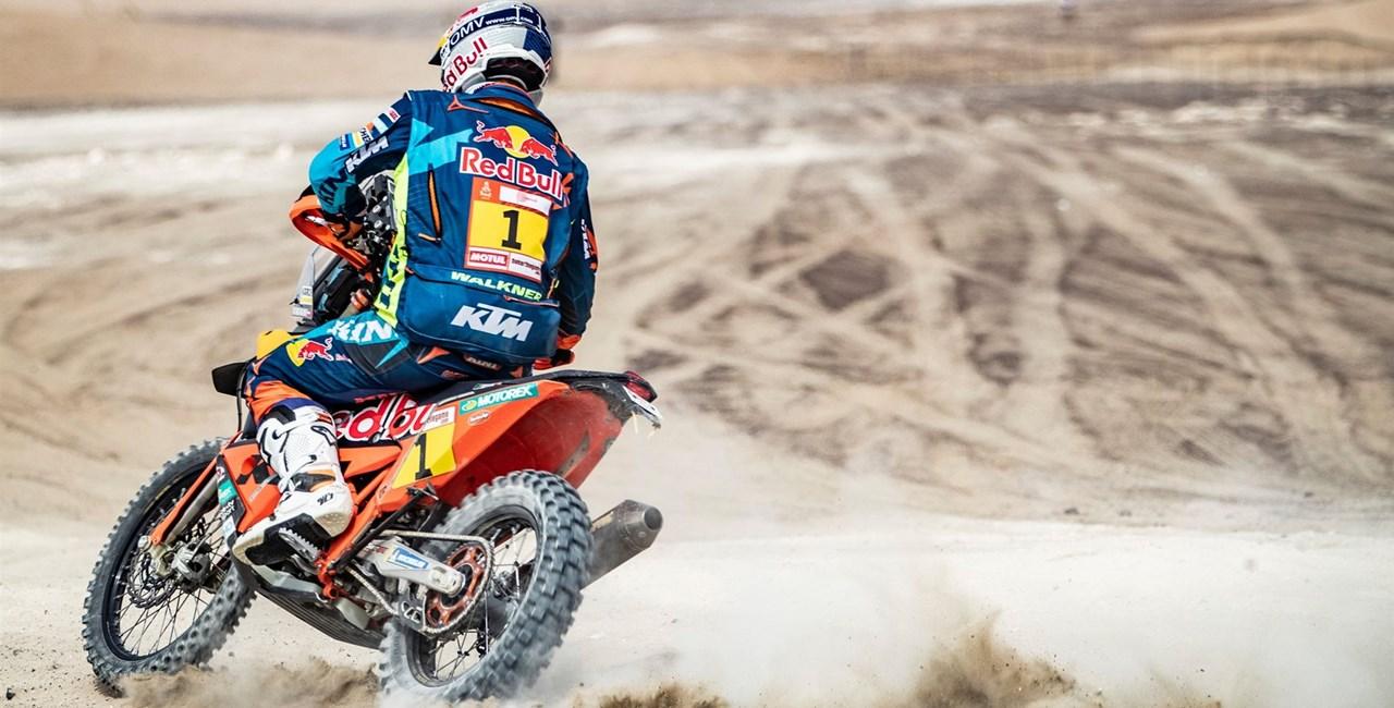 Rallye Dakar 2019 – Walkner siegt auf der zweiten Etappe!
