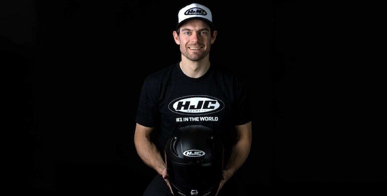 Cal Crutchlow fährt ab 2019 mit HJC Helmen