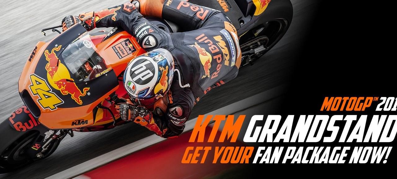 MotoGP Sachsenring - KTM Fantribüne T9 Tickets