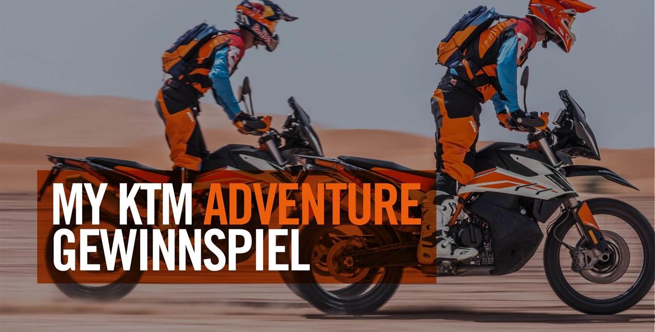 My KTM Adventure Gewinnspiel