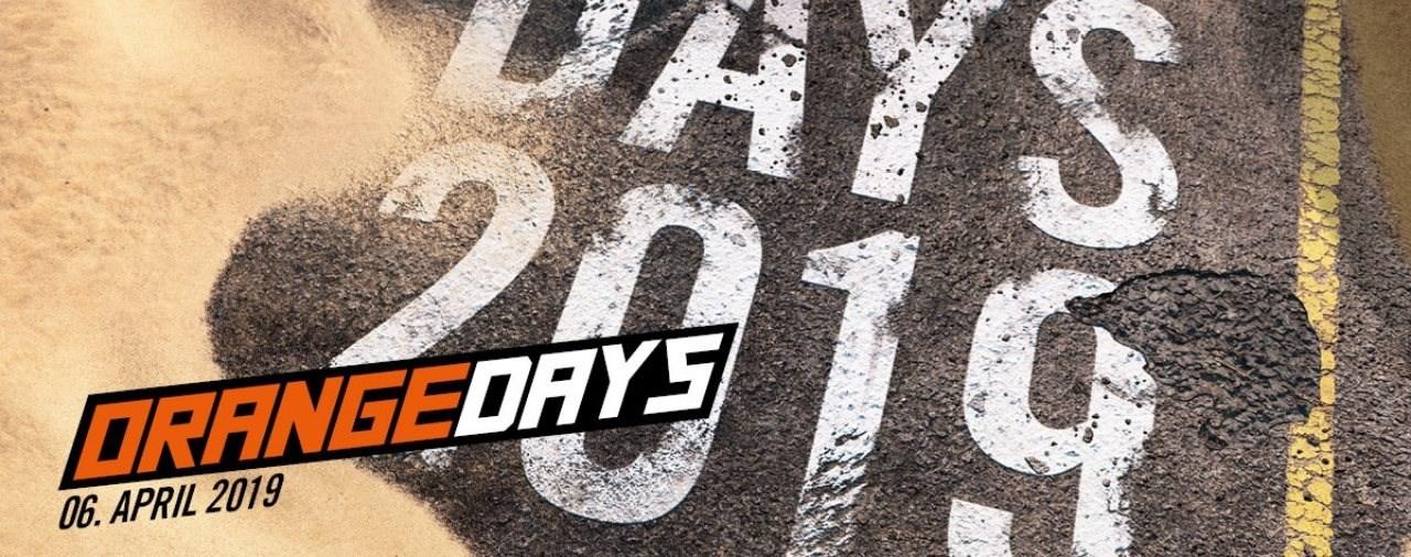 KTM ORANGE DAYS - 06. APRIL 2019