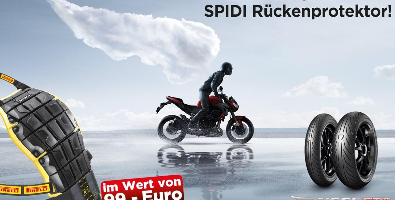 Pirelli Angel GT II kaufen und Spidi-Protektor gratis bekommen