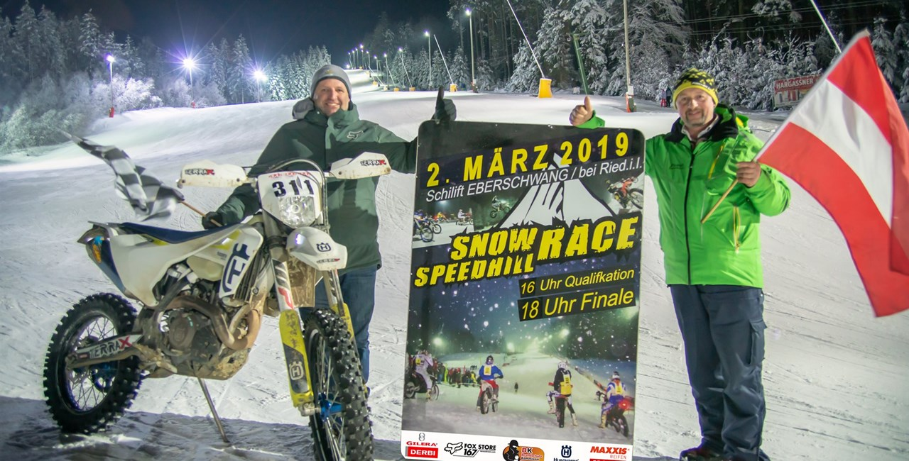 SnowSpeedHill Race 2019 mit internationalem Teilnehmerfeld