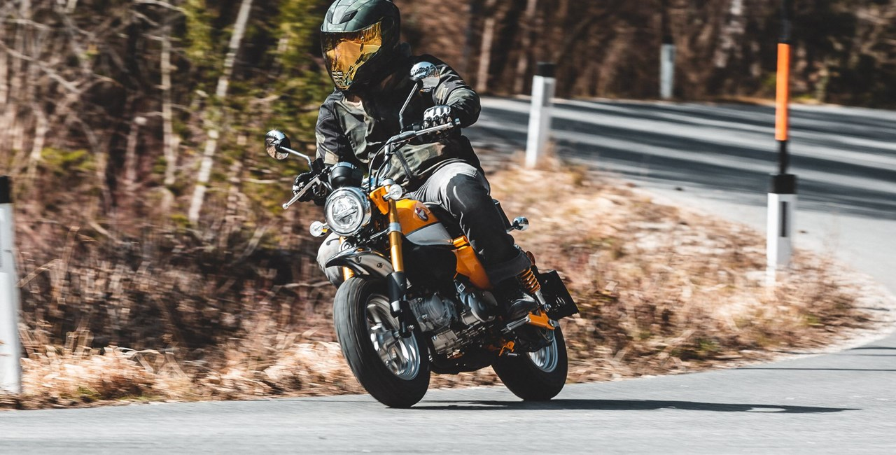 Honda Monkey 2019 Test