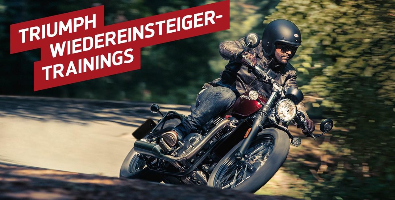 Triumph Wiedereinsteiger-Trainings