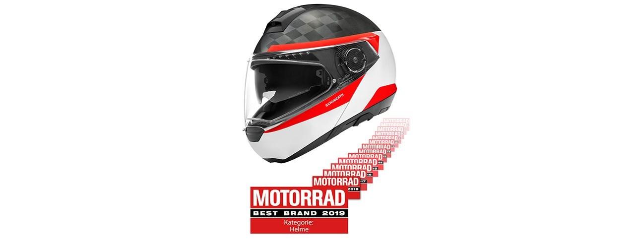 """SCHUBERTH  gewinnt MOTORRAD Best Brand"""" geht zum 14. Mal in Folge"""