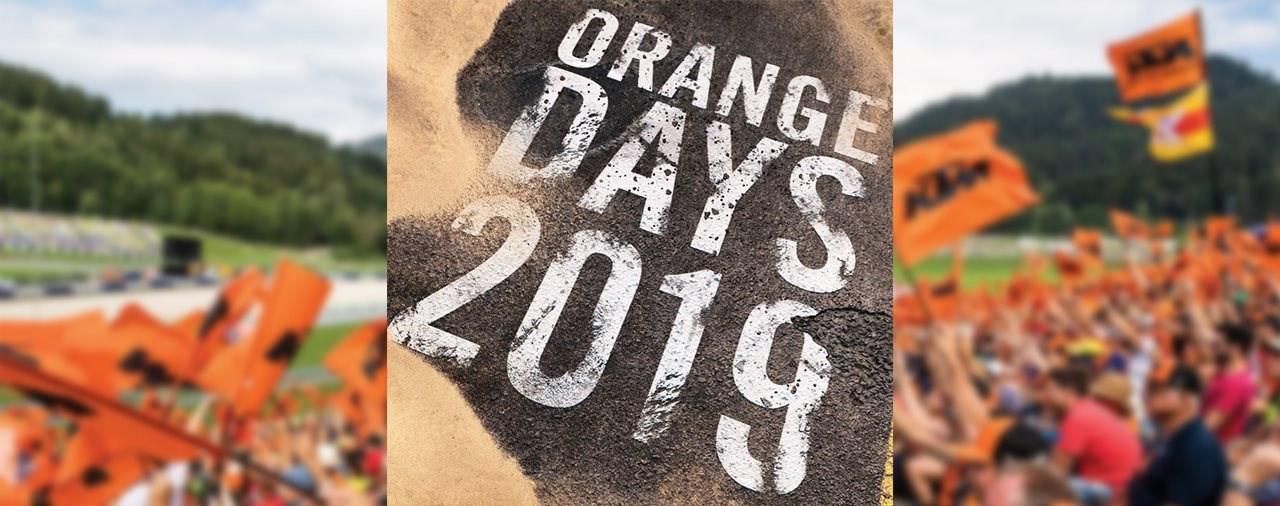 KTM ORANGE DAY am 6. April 2019