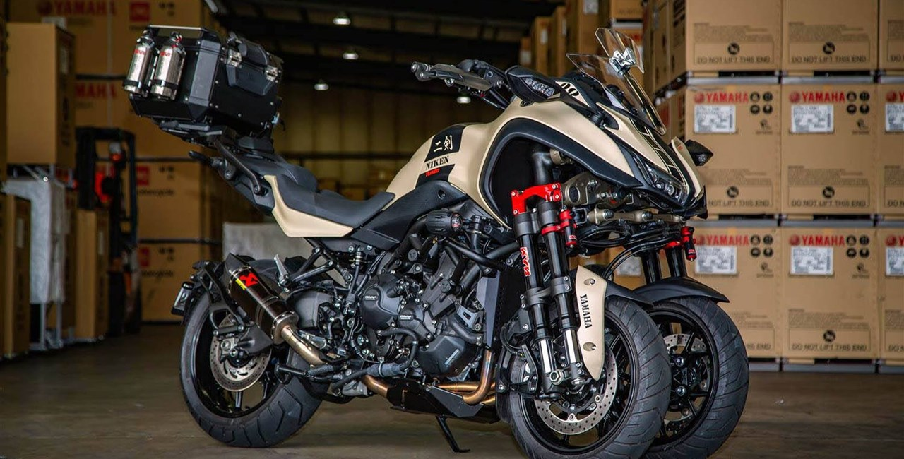 Yamaha Niken Turbo by Trooper Lu's Garage