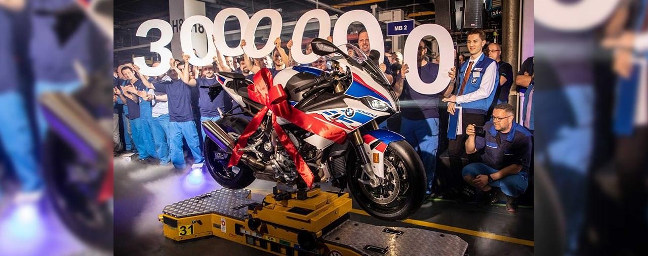 Drei Millionen BMW Motorräder in 50 Jahren