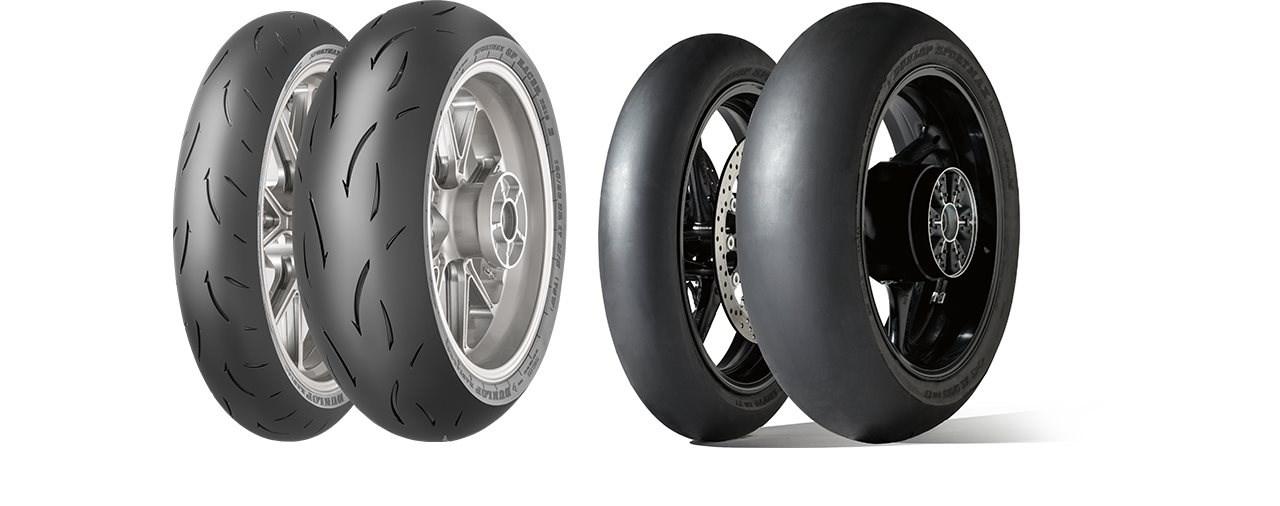 Neue Endurance-Mischung: Dunlop GP Racer D212 & Slick D212