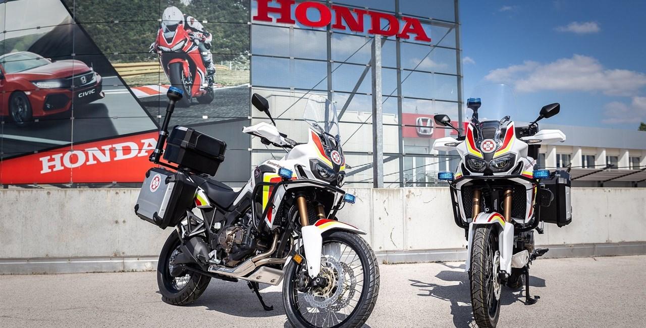 Honda Motorrad stattet den Arbeiter-Samariter-Bund Österreich aus