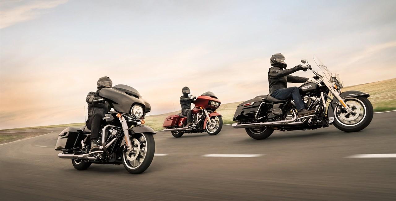 Harley-Davidson Probefahrtaktion mit großem Gewinnspiel