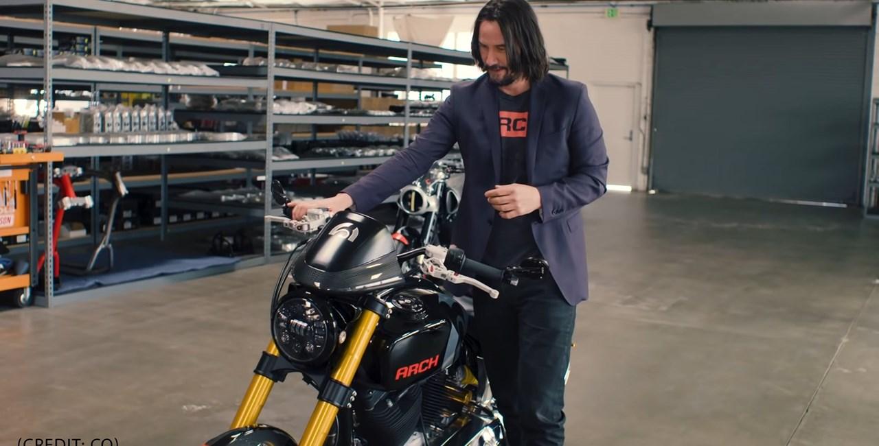 Keanu Reeves und Arch Motorcycles