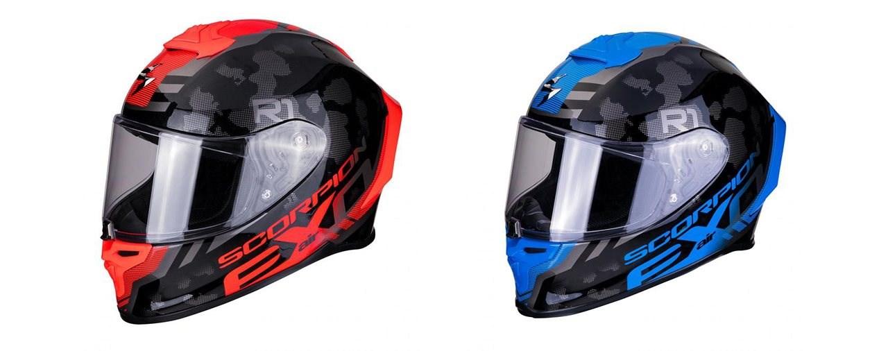 Scorpion EXO-R1 AIR: der Helm für schnelle Fahrer