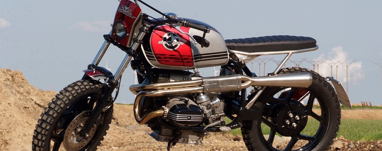 BMW R 80 RT - SCRAMBLER-like!