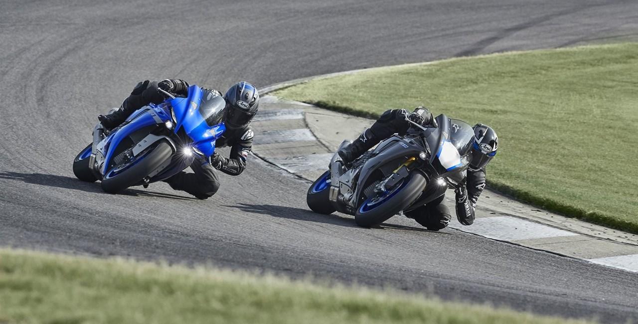 Yamaha YZF-R1 und YZF-R1M 2020