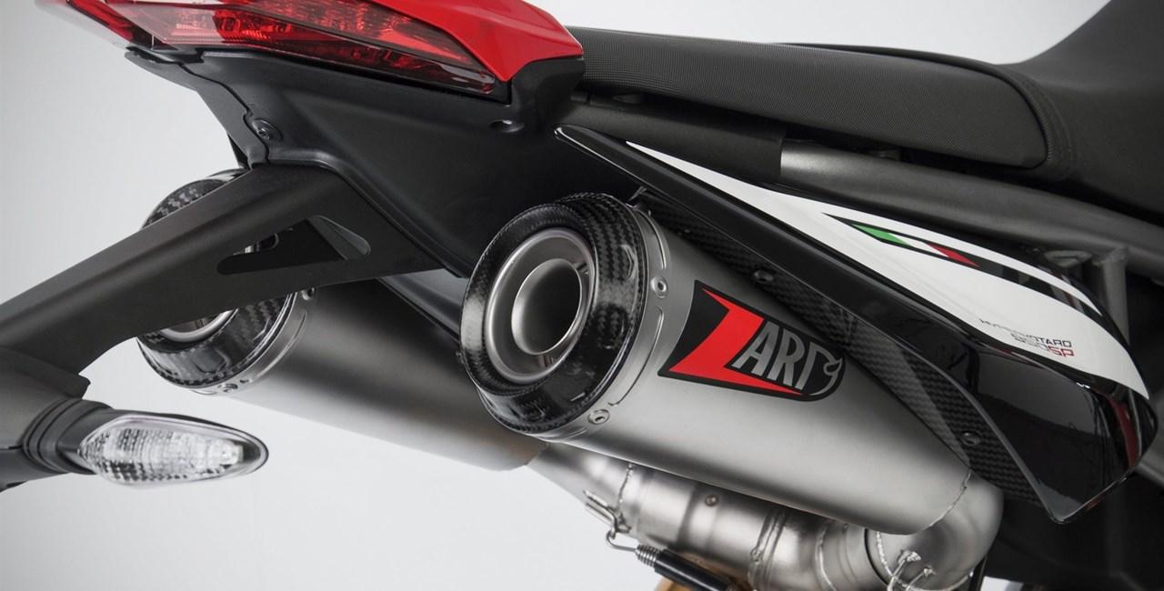 Zard Auspuffanlage für die Ducati Hypermotard 950 / SP