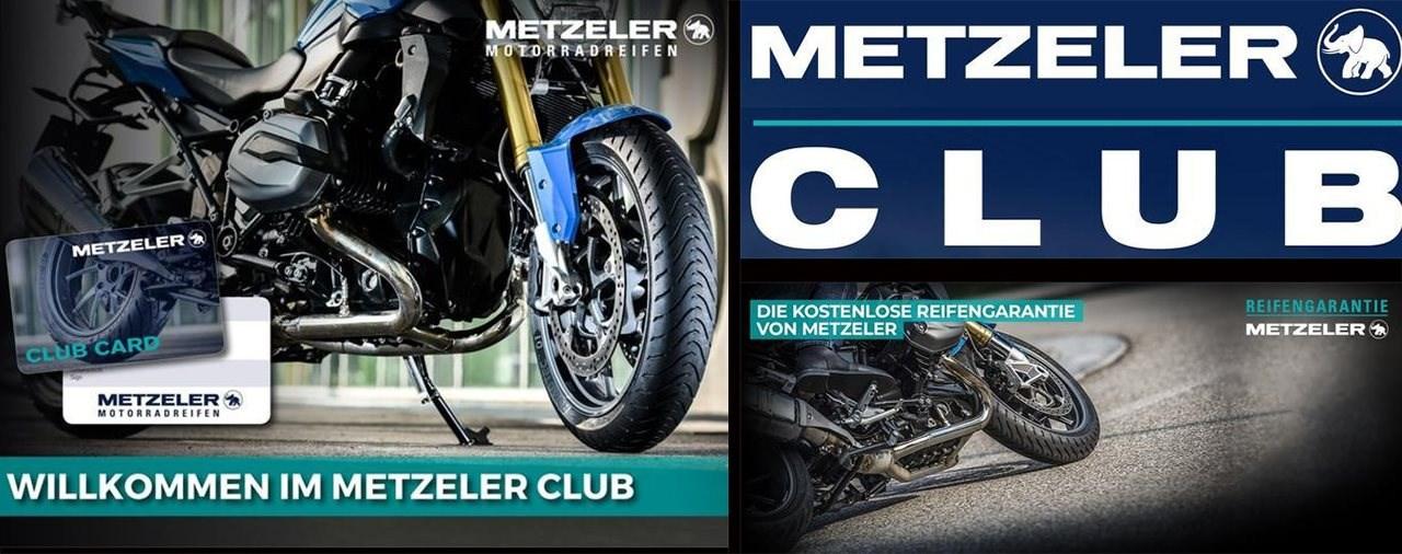 Der neue METZELER CLUB: Reifen kaufen und Garantie sichern!