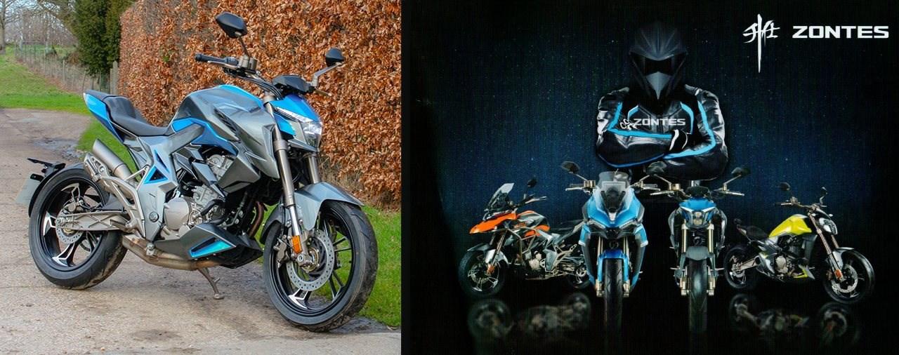 Zontes Motorräder demnächst in Österreich und Deutschland?