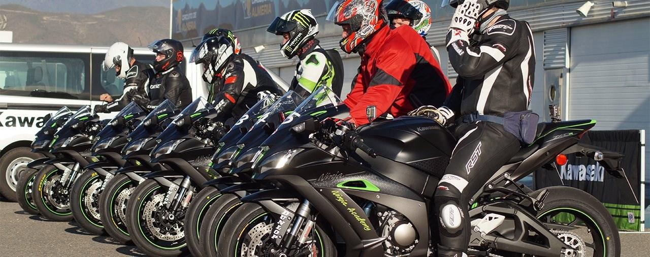 Neue Eventtermine der Kawasaki Ninja Academy im Herbst