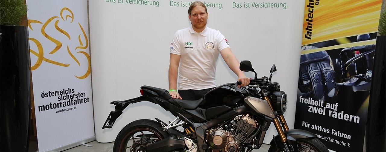 Österreichs sicherster Motorradfahrer 2019