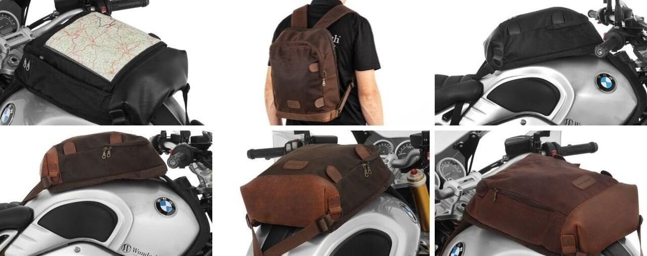 Für Mensch und Maschine - der neue Wunderlich Tank-Rucksack