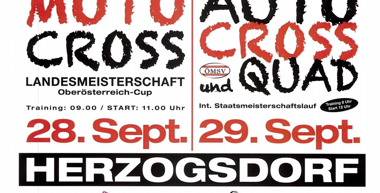 Finale zum OÖ Motocross-Cup in Herzogsdorf