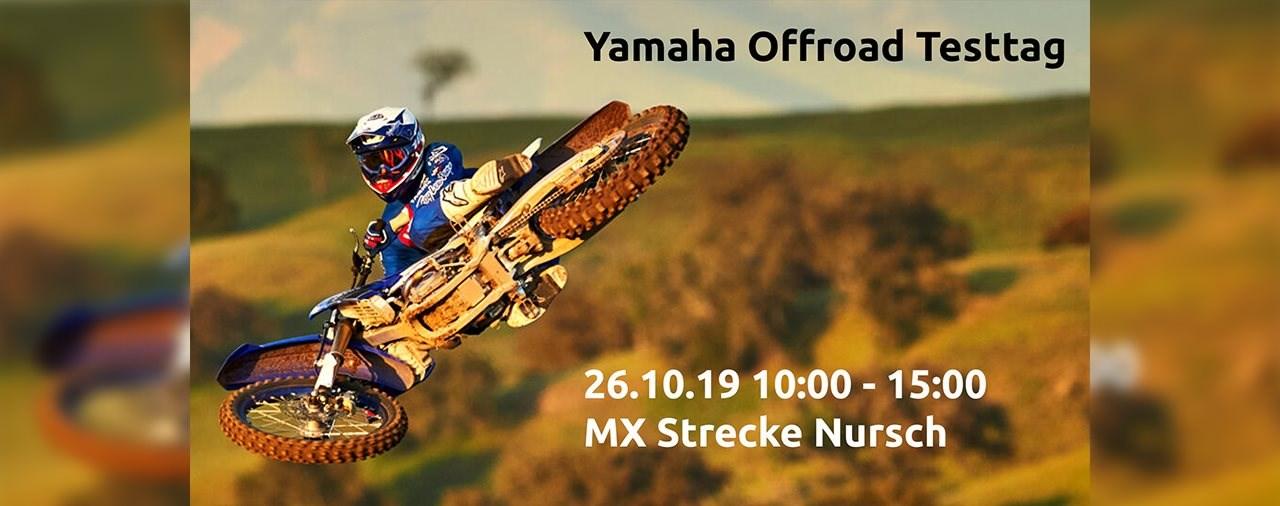 Yamaha Offroad Testtag 26. Oktober