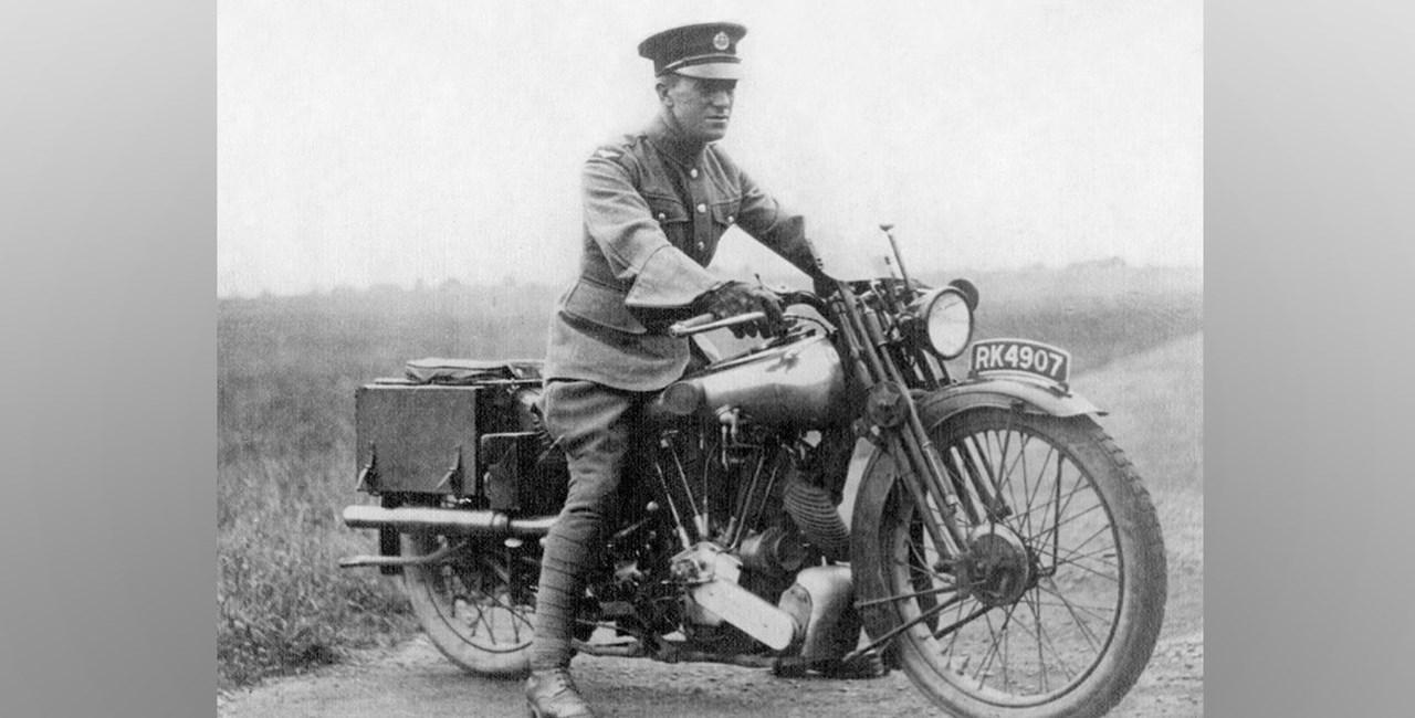 Lawrence von Arabien – Der Held der das Motorradfahren veränderte