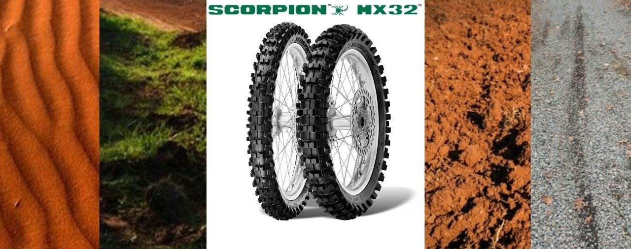 Welche Mischung des Pirelli MX32 ist die richtige für mich ?