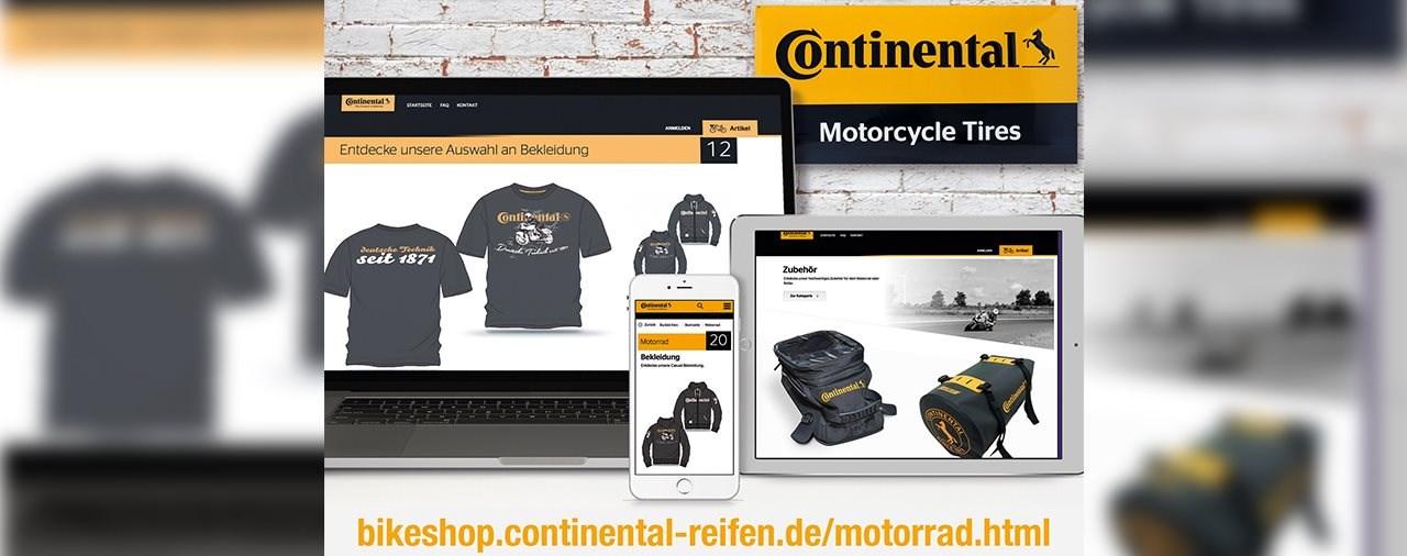 Continental eröffnet den neuen Online-Shop