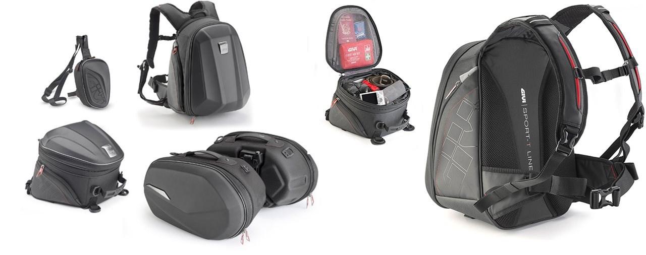 Die neuen Gepäck- und Rucksack Lösungen für 2020: GIVI SPORT-T