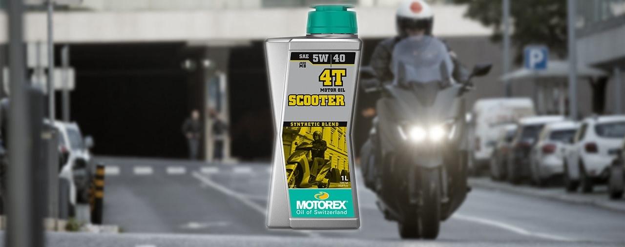 MOTOREX SCOOTER 4T 5W/40 Rolleröl
