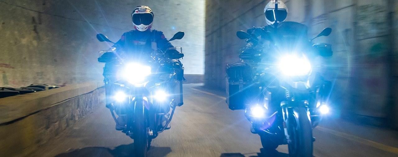 Wunderlich LED-Zusatzscheinwerfer für BMW F 750 GS und F 850 GS