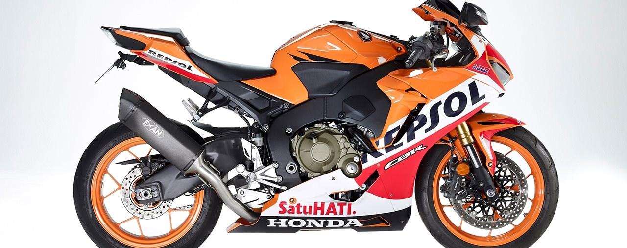 Exan Slip-On für die Honda CBR1000RR Fireblade SC77