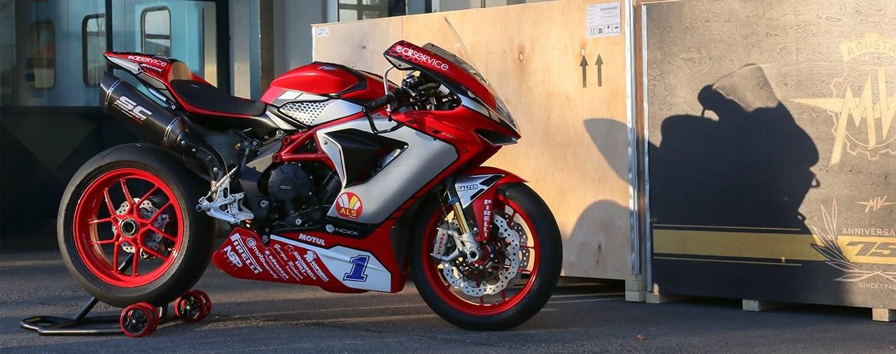 MV Agusta Reparto Corse präsentiert 2020 Lackierung